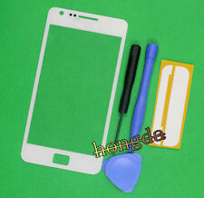 White Front LCD Glass Lens Replacement For Samsung Galaxy S2 SII GT-i9100