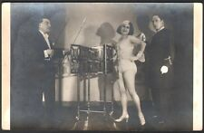 Prestidigitation illusionnisme. Le Docteur Marbrus et Miss Jenny Brown. Ca 1925