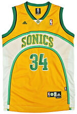 Mens ADIDAS RAY ALLEN #34 Jersey LARGE Throwback Seattle Supersonics Soul Celtic