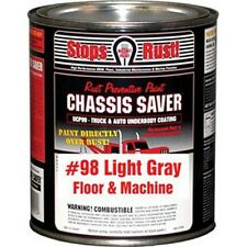 Magnet Paint UCP98-04 Chassis Saver Paint Gray, 1 Quart Can