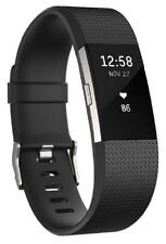 "Fitbit Charge 2 Heart Rate & Activity Tracker - Large (6.7""–8.1"") / Black HR"