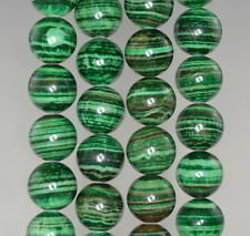 14MM  MALACHITE LACE JASPER GEMSTONE GRADE AA  ROUND LOOSE BEADS 7.5""