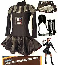 Rubie's Adult Womens STAR WARS Female DARTH VADER Costume (Small/2-6) PRE-OWNED