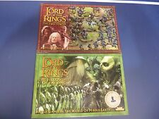 Games Workshop Lord of the Rings Strategy Battle Games Fellowship and Two Towers