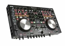 Denon DN-MC6000MK2 DJ Controller w/ Built in 4-Channel Mixer USB & Serato Intro