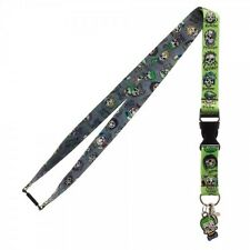 OFFICIAL DC COMICS SUICIDE SQUAD SKULL ICON ALL OVER PRINT LANYARD (NEW)