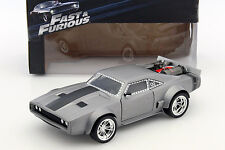 Dom's ice Dodge Charger R/T casi and Furious 8 plata 1:24 jada Toys
