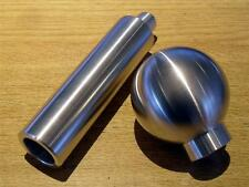 Handbrake handle & gearknob set, Mazda MX-5, brushed aluminium MX5, hand made