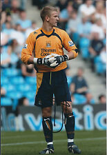 Joe HART Signed Autograph Photo AFTAL COA Manchester City Premier League WINNER
