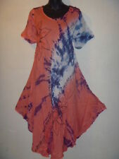 Wholesale Lot 3 Dress Fit 1X 2X 3X Plus Tunic Hand Paint Assorted Colors NWT
