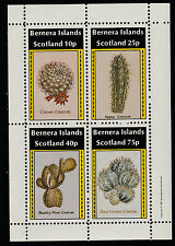 GB Locals - Bernera (1123) 1981 CACTI perf sheetlet unmounted mint