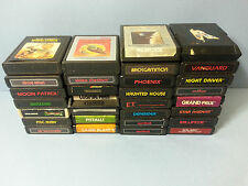 Atari 2600 Game 30 LOT PITFALL MILLIPEDE HAUNTED HOUSE E.T. VENTURE -FREE SHIP-