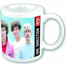 *OFFICIAL PRODUCT* ONE DIRECTION GROUP SHOT BOXED COFFEE MUG CUP DRINKWARE