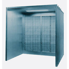 Open Front Industrial Spray Booth (4' W x 7' H x 5') 8570