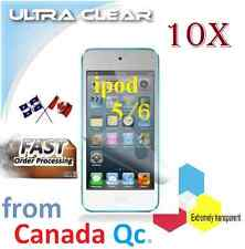 10X ULTRA clear screen protector Apple ipod 5 6 film guard shield protection LCD