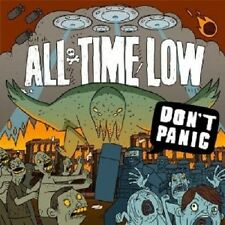 ALL TIME LOW - DON'T PANIC  CD  ROCK & POP  NEW+