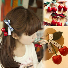 Japanese Mori Girl Sweet Lolita Vintage Cherry Kawaii Hairpin Hair Accessories