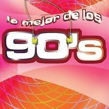 Lo Mejor de Los 90's Various Artists CD NEW Sealed FREE SHIPPING!! Spanish Music