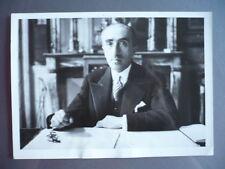 PHOTOGRAPHIE 1933 ABEL GARDEY HOMME POLITIQUE MINISTRE DE LA JUSTICE