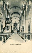 Alte AK/Vintage postcard: LUZERN - Kathedrale (um 1910)