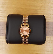 "Genuine Marc Jacobs Donna mbm3200 ""Henry Dinky"" Rose Gold-Tone Ladies Watch"