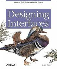 Designing Interfaces : Patterns for Effective Interaction Design by Jenifer...