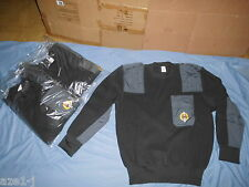 Größe 58 (XXL) Neu  Winter Militär MARINE POLIZEI Feuerwehr Pullover  50% Wolle