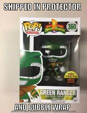2016 NYCC Funko Pop Toy Tokyo Exclusive Metallic Power Rangers Green Ranger