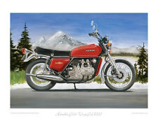 Honda Gold Wing GL1000 (1975) - Limited Edition Collectors Print by Steve Dunn