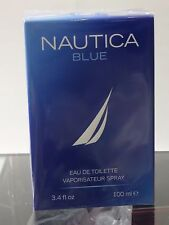 Nautica Blue Perfume Cologne 3.4 oz 100 ml EDT Spray For Men New in Sealed Box