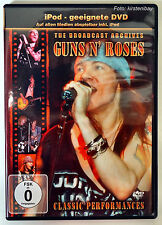 Guns N 'Roses-the broadcast Archives Live Hardrock-iPod adeguate DVD/mp3