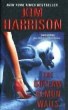 The Outlaw Demon Wails 6 by Kim Harrison - Fantasy Paperback Book Fiction Read
