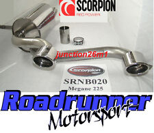 Scorpion Megane 225 Back Box Stainless Exhaust 2.0T New SRNB020