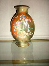 Vase opaline polychrome Cristallerie Signé Saint Louis XIX  Jean-François ROBERT
