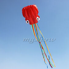 Flying Octopus Parafoil Kite W/ Handle & String Outdoor Park Beach Outdoor Fun