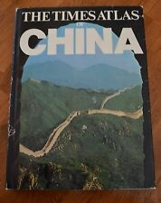 The Times Atlas of China by London Times Staff (1974, Hardcover) EUC