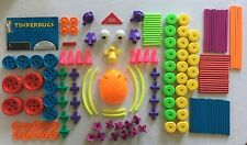 Tinker Toys Tinkerbugs Plastic Piece Lot Complete Set & More 1 replacement piece