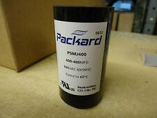 Packard PSMJ400 Motor Start Capacitor 400-480 MFD 165 VAC
