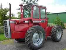 MASSEY Ferguson (MF) 1250 Bonnet & Warning Autocollants / stickers