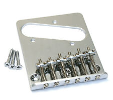 TB-5034-010 Chrome 6-saddle Bridge for Import Fender/Squier Telecaster/Tele®