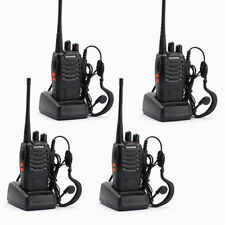 4 RICETRASMITTENTE WALKIE KIT 4 TRASMITTENTI BaoFeng BF-888S CUFFIE INCLUSE
