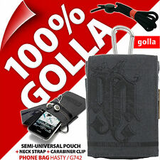 New Golla Black Phone Case Pouch Bag For iPhone 3GS 4 4S 5 5S Samsung Galaxy S2