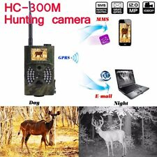 HC300M Animal Hunting Trail Digital IR Infrared LED Camera HD GPR MMS GSM 940NM