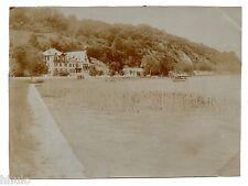 B502 Photo vintage Original Savoie Annecy Hotel Beau Rivage au bord du lac
