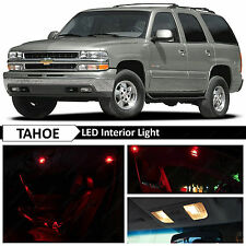 20x Red LED Lights Interior Package Kit for 2000-2006 Chevy Tahoe YUKON