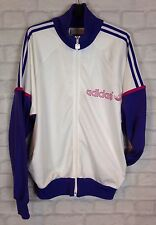 VINTAGE RETRO 90s SPORTS ADIDAS URBAN TRACK JACKET GRUNGE HIPSTER UK M