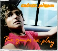 ANDREAS JOHNSON - THE GAMES WE PLAY - VIDEO ENHANCED CD SINGLE