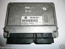 VW Volkswagen POLO 2003 ECU SIEMENS 03D 906 032 C / 5WP40124 05  (ref2102/6)