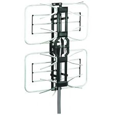 Esky Amplified 160 Miles Outdoor HDTV TV Antenna HG-996 Remote Control VHF UHF