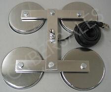 New 4 Magnet super mag antenna heavy duty quad mount for CB Ham radio antennas.